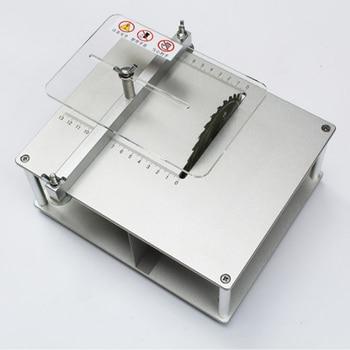 Mini bench saw  mini precision table saw  mini cutting machine  diy woodworking saw  multi - functional table saw