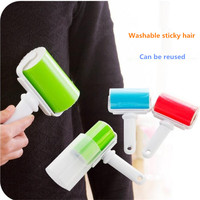 Washable clothes sticky hair dusting roller repeatedly using sticky roller sweater dusting brush