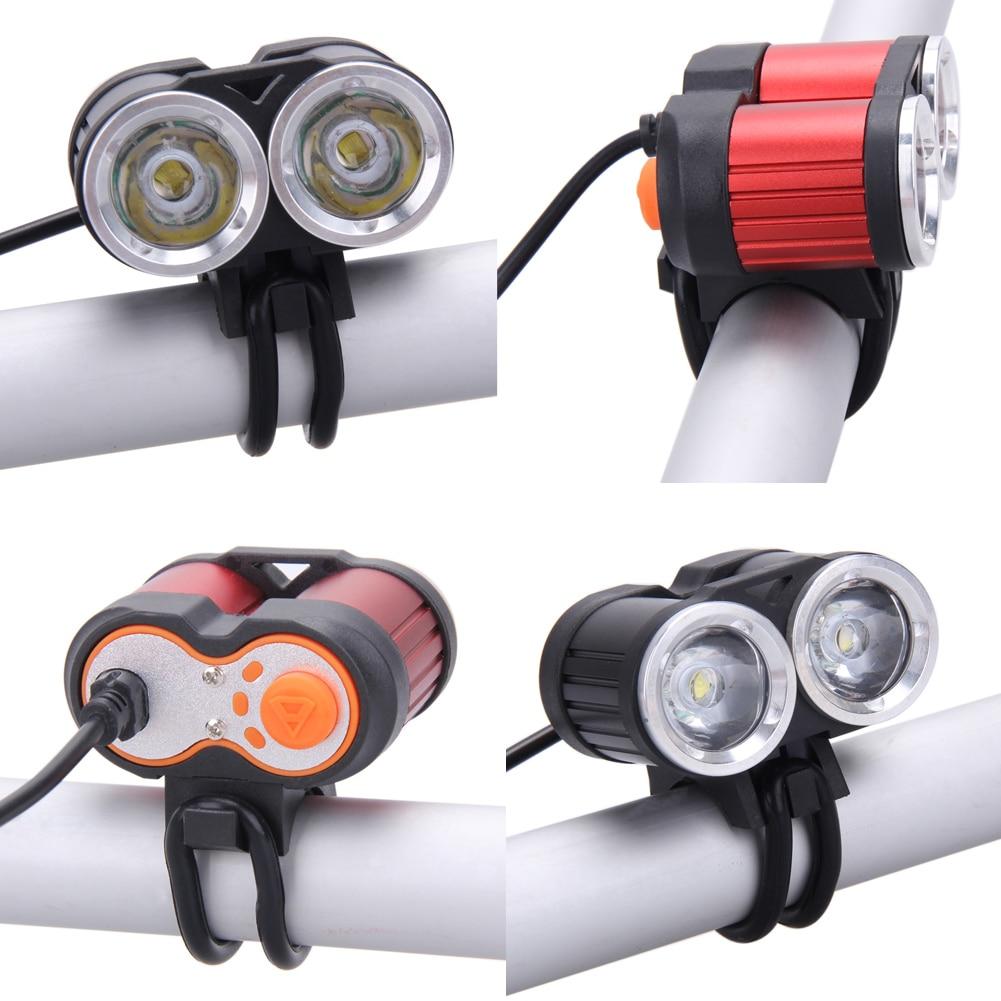 6000LM 2x T6 LED Fahrrad licht 3 Schalter Modus Radfahren Bike ...