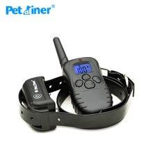 Petrainer pet998db-1 водонепроницаемый аккумуляторная собак электронный ошейник обучение ожерелье для дрессировки собак