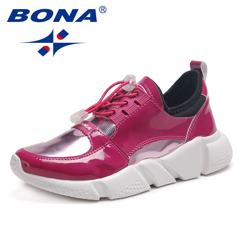 BONA New Classics Style Women Running Shoes Lace Up Women Sport Shoes Outdoor Jogging Sneakers Comfortable Soft Free Shipping camel shoes 2016 women outdoor running shoes new design sport shoes a61397620