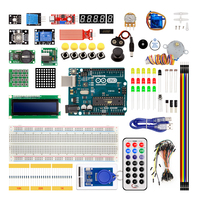 Arduino Uno R3 Diy Electronic Starter Kit With Breadboard 1602 LCD Server Motor LED Relay RTC