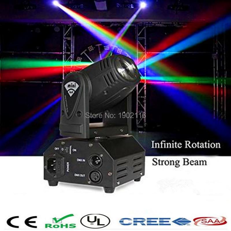 ФОТО 10W mini LED beam moving head light/LED beam/dj disco lighting/Christmas party lights/rgbw dmx stage light effect/LED chandelier