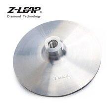 Z-LEAP M14 6 «полировки Алюминий основе Backer колодки Крюк & Петля Шлифовальные колодки поддержку диска угловой шлифовальный станок абразивные инструменты
