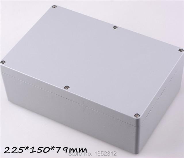 1 Pz 225 150 79mm Ip68 In Alluminio Contenitore Per Elettronica Fai