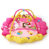 Bear Bunny Duck Music Soft baby Play mat Blanket Pad twin Fitness Frame Educational Baby Toys Climb Crawling Baby Gym