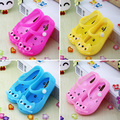 Retail 2016 Fashion Children Sandals Summer Style Kids Shoes Cute Cat Rubber Jelly Baby Girls Beach Shoes calcados infantil
