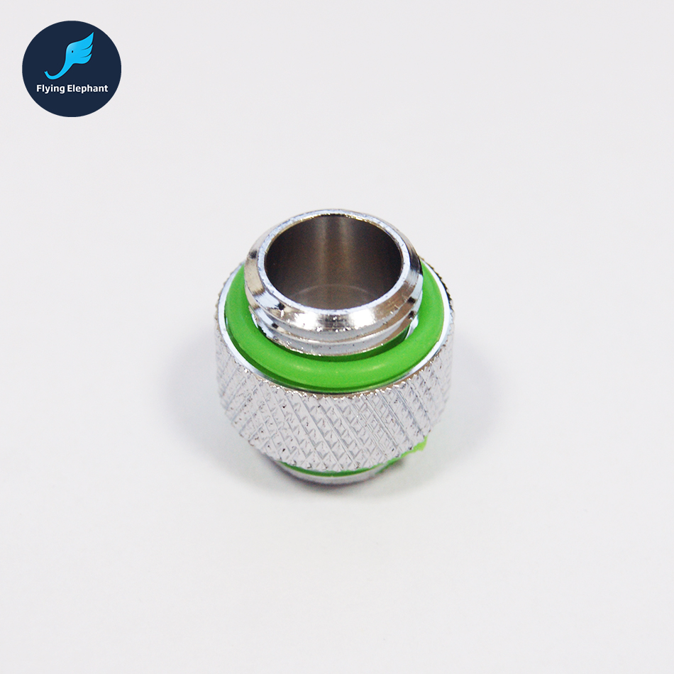 1 piece G1/4 double Quick Twist Water Cooling Fitting Connector For water tank water block PC computer water cooling 1 piece g1 4 quick twist water cooling tube fitting connector for 3 8 1 4 9 5 12 7mm 8 12mm 9 5 15 9mm host