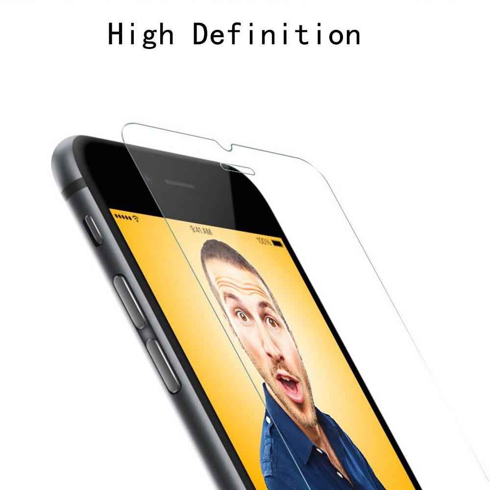 2 дана / лот 0,26 мм 9H Айфон 7 6 6S Plus 5 5S SE - Мобильді телефондарға арналған аксессуарлар мен бөлшектер - фото 2