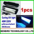 1 шт. удивительной цене 48 Вт Леча UV свет Ультрафиолетовой лампы испечь loca клей для отреставрировать жк, repair tool для iphone s4 B4061