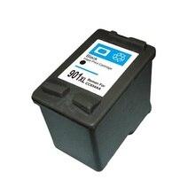 1 UNIDS Para HP 901 xl Cartucho de Tinta Negro Para HP901 Para HP Officejet 4500 J4540 J4550 J4580 J4640 J4585 J4530 J4660 J4500 J4680