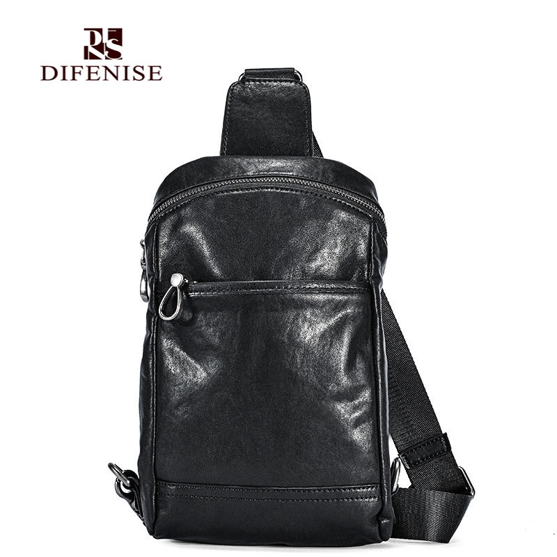 Difenise Brand Luxury Men Backpack England style bags The first layer cowhide Vegetable tanning Genuine leather Solid Back bag new england textiles in the nineteenth century – profits