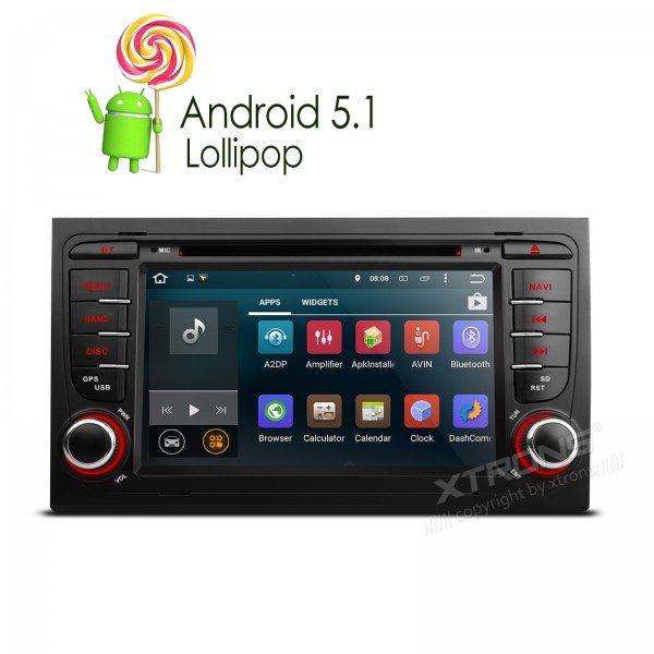 Newest 7 Quad Core 64 Bit Android 5 1 OS Special font b Car b font