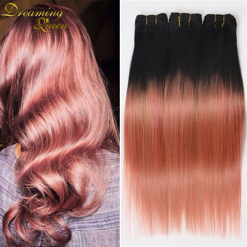 7a brazilian virgin hair ombre rose gold straight weave 3pcs ombre 7a brazilian virgin hair ombre rose gold straight weave 3pcs ombre human hair brazilian straight hair ombre hair extensions in hair weaves from hair pmusecretfo Choice Image