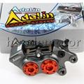 Adelin adl11 Motorcycle Brake Caliper 4 Piston cnc aluminum brake pump for motorbike modification FOR YAMAHA HONDA KAWASAKI