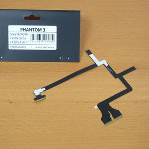 Image 2 - 100% oryginalny nowy elastyczny kabel płaski Gimbal część 49 dla DJI Phantom 3 Pro/Adv