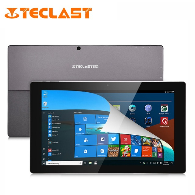 """Teclast Tbook 16 Power 8G RAM+64G ROM 11.6"""" 1920*1080 Windows 10+Android 6.0 Intel X7-Z8750 Quad Core 2 in 1 Ultrabook Tablet PC"""
