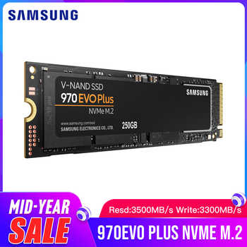 Samsung SSD 970 EVO Plus 250GB 500GB 1TB NVMe M.2 2280 Internal Solid State Hard Disk 970 Evo Plus SSD PCIe 3.0 x4, NVMe 1.3 - DISCOUNT ITEM  30% OFF All Category