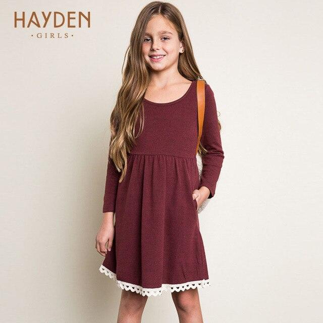 7544c2914cdc HAYDEN vestiti dalle ragazze adolescenti 11 anni primavera-estate costumi  principessa vestito estivo vestiti dei