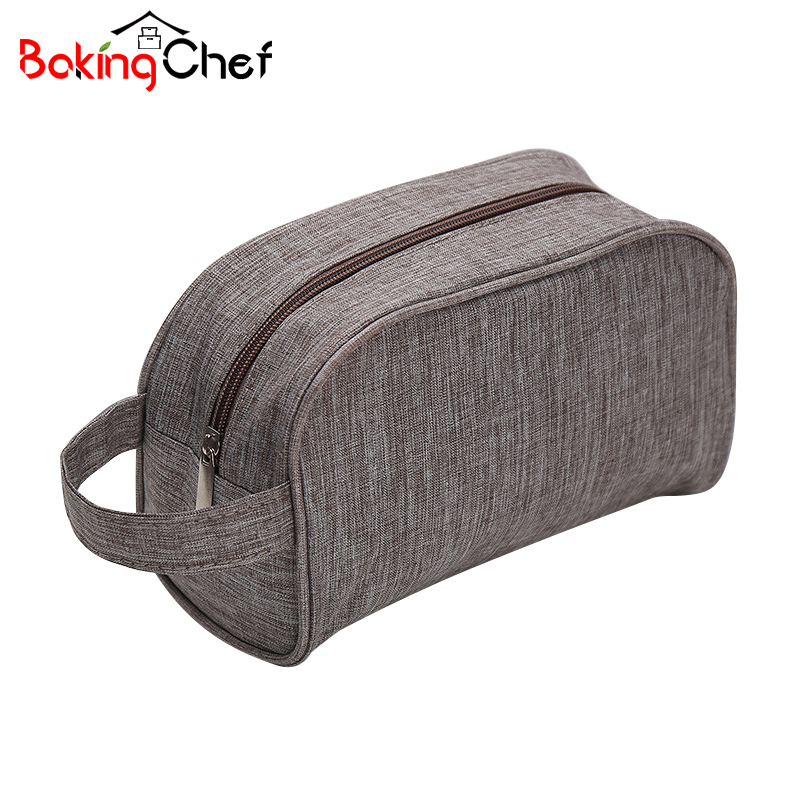 BAKINGCHEF Mens Portable Travel Toiletry Bags Beauty Cosmetic Make up Storage Organization Womens Cute Lady Wash Pouch Item