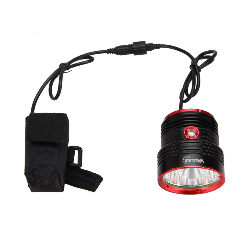 Image 3 - 30000lm Bike Lamp 14x XML T6 LED Headlight Rechargeable Bicycle  Front Light Torch Bike Accessories 8.4v Battery Pack Chargerbike  lampbicycle frontbike accessories
