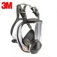 3 м 6800 Полнолицевая респиратор многоразовый респиратор фильтр Защитная маска Анти органические и газовые R82032