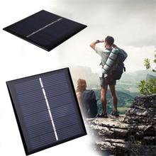 BCMaster 0.42W 3V Polycrystalline Solar Panel Portable DIY Sunpower Solar Power Cell Charger Module