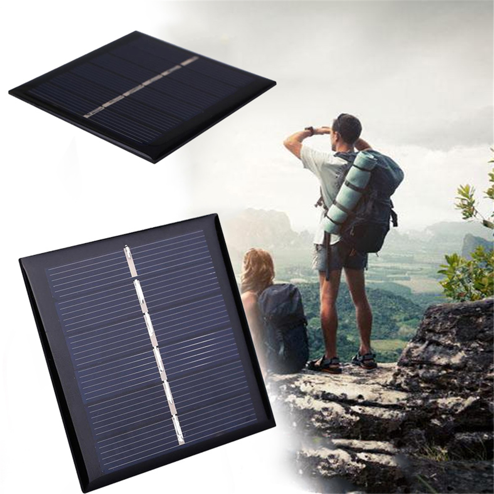 BCMaster 0.42W 3V Polycrystalline Solar Panel Portable DIY Sunpower Solar Power Cell Charger Module