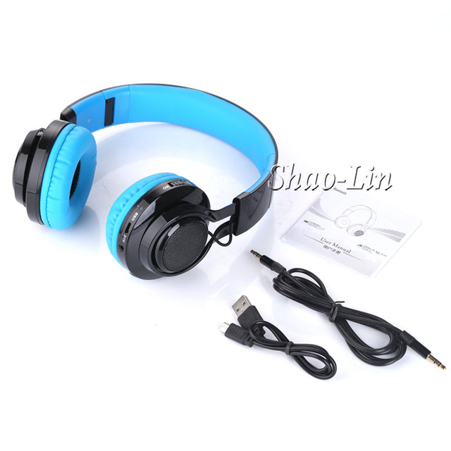 SL Newest Bluetooth Headset earphones with MIC Wireless Bluetooth headphones glowing gaming headphones for a mobile phone and PC