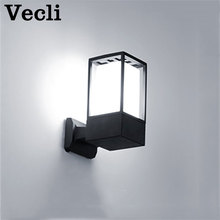 купить Outdoor wall lamp Waterproof courtyard gate lighting Garden wall villa terrace LED Luminaria balcony wall lighting fixtures по цене 1060.59 рублей
