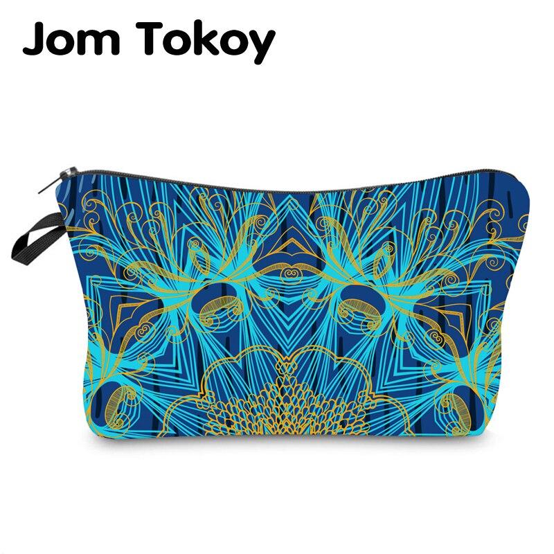 Jom Tokoy Water Resistant Makeup Bag Printing Mandala Cosmetic Bag Organizer Bag Women Multifunction Beauty Bag Hzb975