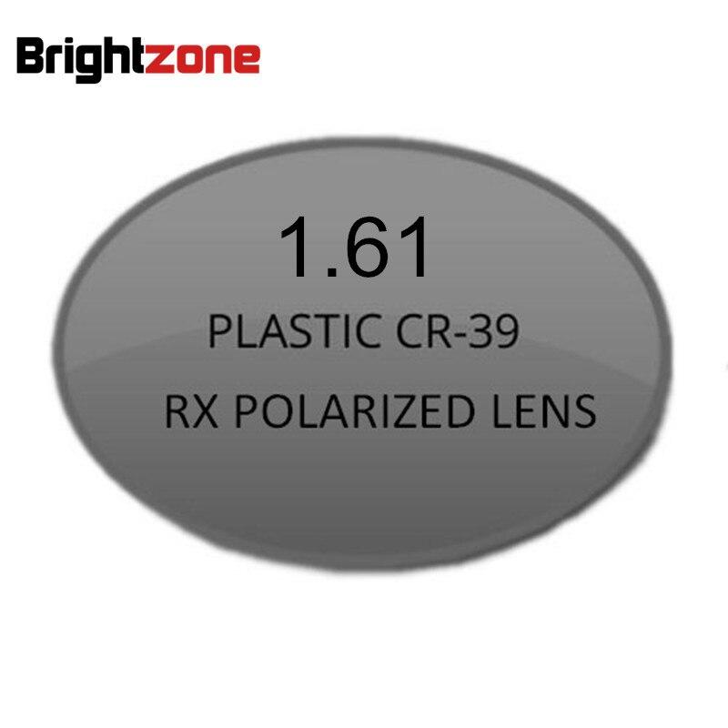 1.61 verres Rx à courte vue 100% lunettes de soleil polarisées de Prescription lunettes de conduite nocturne monture optique myopie lentilles