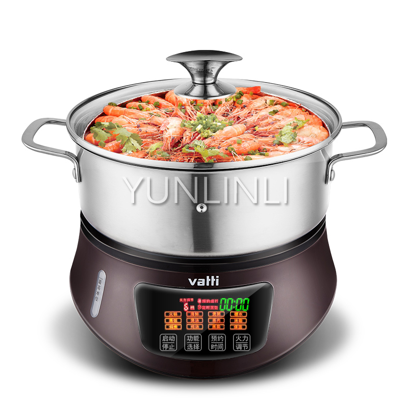 Household Electric Steam Hot Pot Multifunctional Steam Cooker Electric Steam Chafing Dish Electric Steamer HGZQ-26GB01 connie brockway hot dish
