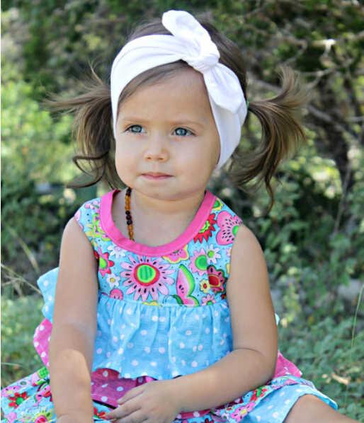 2018 корейский Бутик кроличьи уши Топ завязанный твист повязки для женщин взрослых новорожденных девочек детская головная повязка резинка для волос, тюрбан