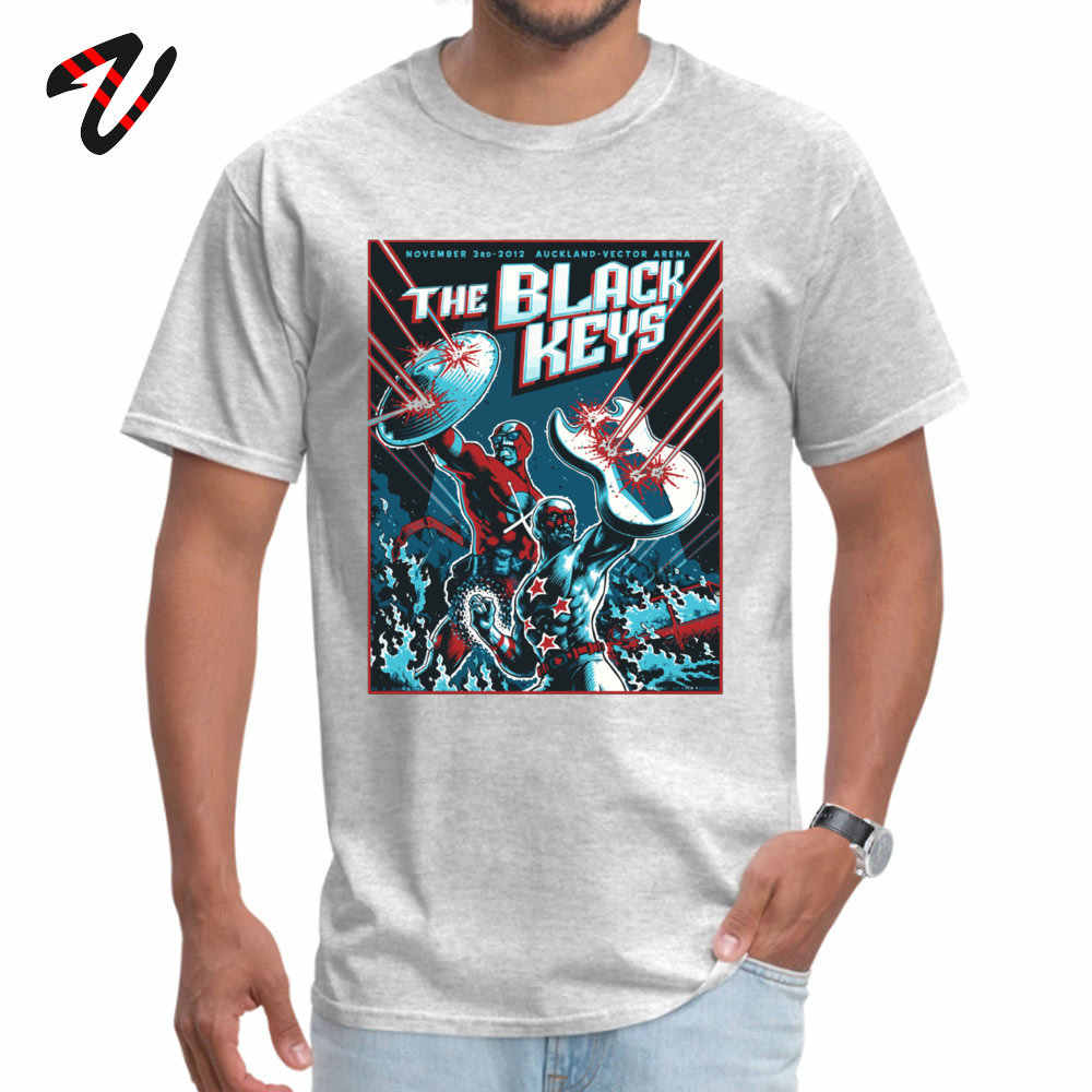 Tops Shirts De Zwarte Toetsen Tops T-shirt Zomer/Herfst Leuke Casual Ricky En Morty Mouw Pokemon O-hals Mannen t-shirt Casual