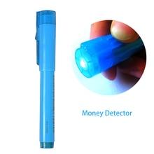 1 шт., 2 в 1, полезный УФ-светильник, детектор поддельный, поддельный, кованый, для проверки банкнот, детектор, тестер, маркер, ручка