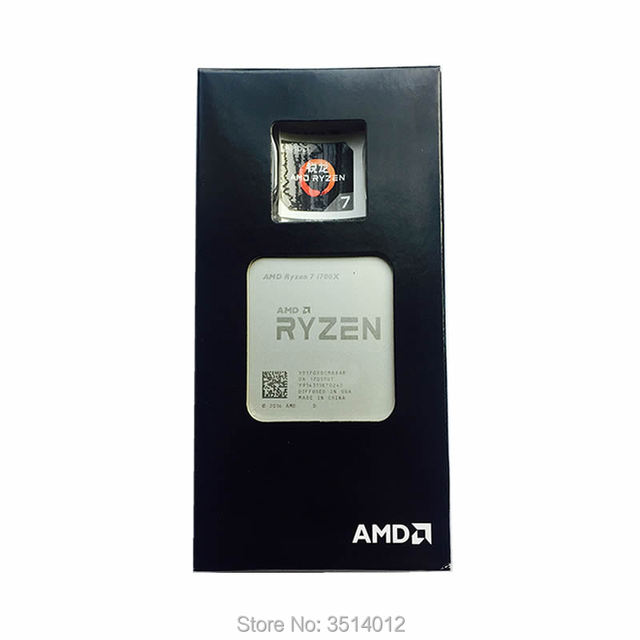 AMD Ryzen 7 1700X R7 1700X3.4 GHz Otto Core CPU Processore YD170XBCM88AE Presa AM4