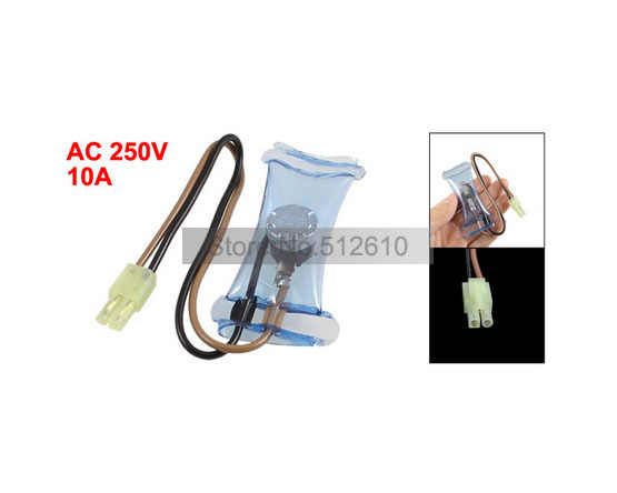 PST-3 N8 2 Pin Connectors -7C Refrigerator Defrost Thermostat Switch AC 250V 10A Free Shipping