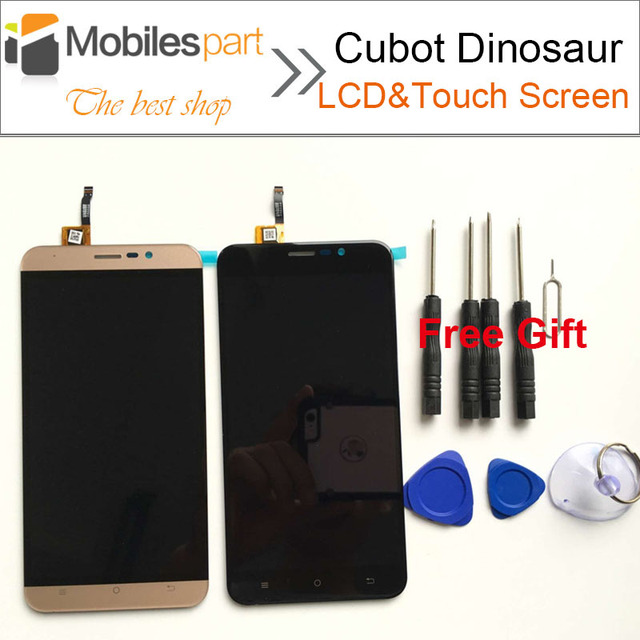 Cubot Dinosaur LCD Screen 100% Original Replacement Accessory LCD Display+Touch Screen for Cubot Dinosaur Smartphone +Free Tools