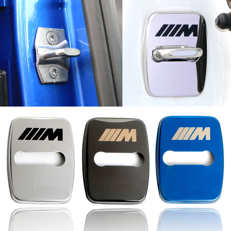 Car Styling Car Emblems Stickers Case For BMW 1 2 3 5 6 7-Series X1 X3 X4 X5 X6 M1 M3 Accessories 4 buttons silicone case for bmw x1 x5 x6 bmw 3 5 7 series smart remote car key cover with emblems