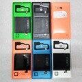 100% Оригинальный Корпус Для Nokia Lumia 735 С Беспроводной Зарядки, Задняя Сторона Обложки батареи С Боковым Кнопка Для Nokia 735 JS0294
