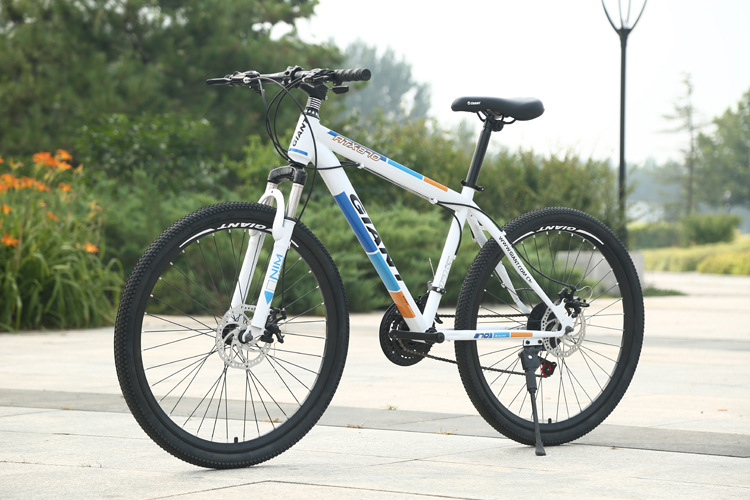 manufacturers selling new giant 777870 mountain bike shock transmission double disc brake