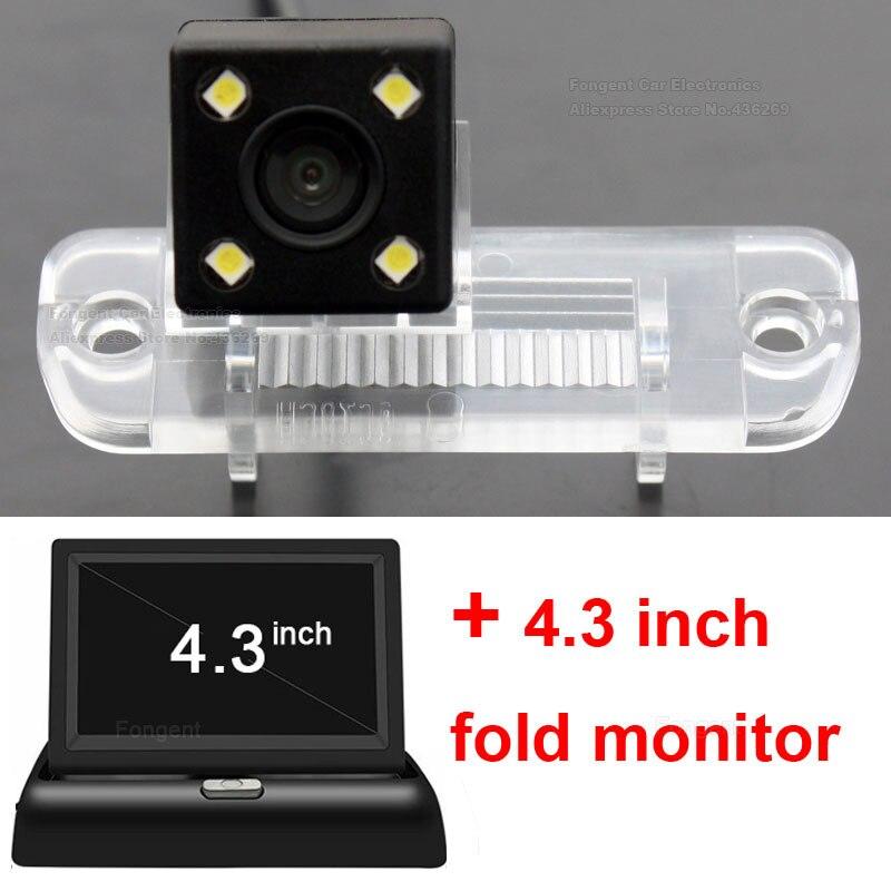 Monitor Da Câmera de Visão Traseira do carro Reverter Back up de estacionamento Para Mercedes Benz R Classe R350 R500 ML350 W203 W211 w209 B200 A160 W219