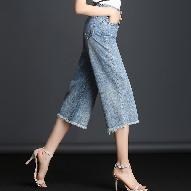 MUM Women Brand Skinny Denim Pencil Pants 2018 Autumn Winter High Waist Slim Button Pockets Pants