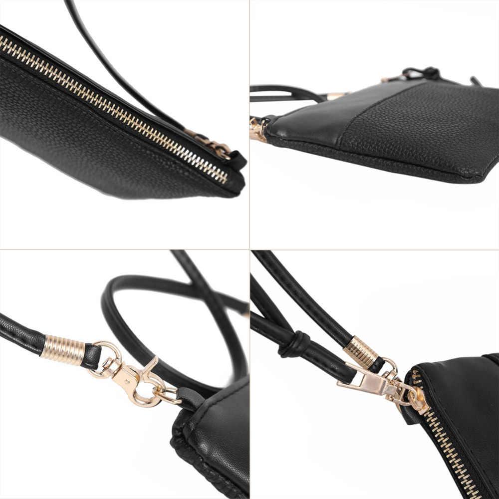 b9fc077ebc52 ... PU Leather Flap Bag Small Mini Shoulder Bags for Women Leather Female  Purse Handbags Girls Crossbody ...