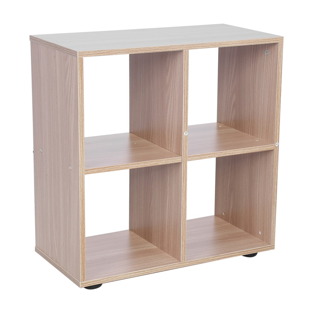 4 Grids Step Storage Cube Display Shelf Modern Wooden Bookshelf Bookcase Home Office Use New for living room bedroom study room new z display for speed cubing magic cube timer puzzle display use in speed flying cups 3x3 speed cube twisty educational toys