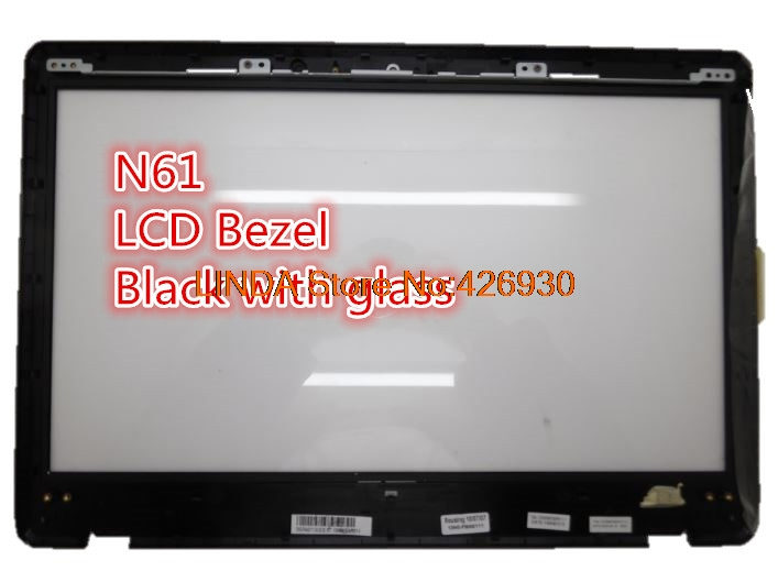 Laptop LCD Bezel For ASUS N61 N61Da N61J N61Ja N61Jq N61Jv N61V N61Vf N61Vg N61Vn Black with glass 13GNWF20P011-1 v n chavda m n popat and p j rathod farmers' perception about usefulness of agriculture extension system