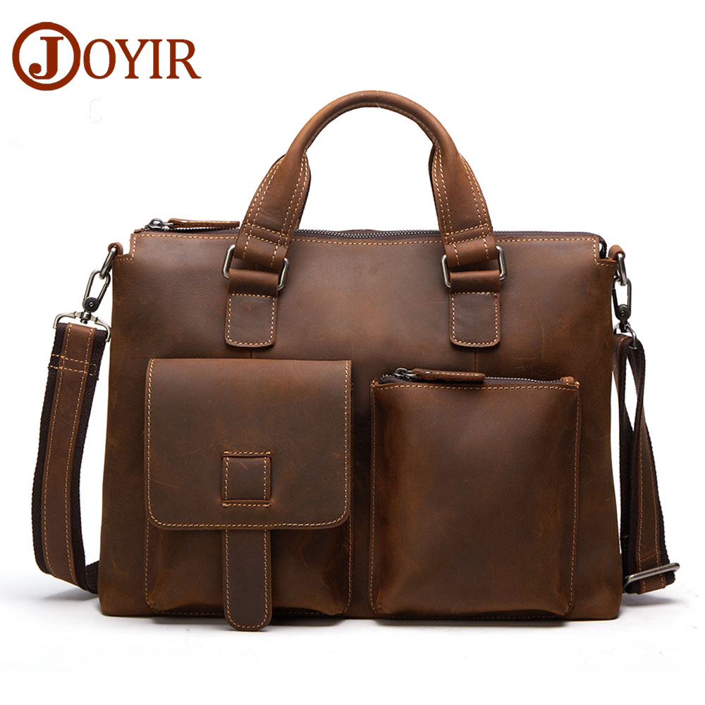 Luxury Brand Genuine Leather Mens Handbag Laptop Bag Business Cow Leather Male Shoulder Bag Designer Crossbody Travel Men Bag genuine leather men travel bab shoulder bag gentleman business bag real leather men crossbody bag brand fashion handbag