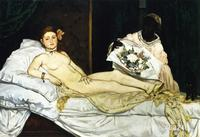 OLYMPIA Edouard Manet oil Painting High quality Hand painted