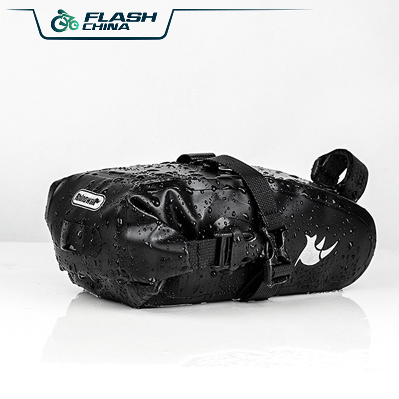 FLASH 2019 Bike Bag Bicycle Saddle Tail Seat Seamless Stitching Waterproof Cycling Rear Pack Panniers Accessories 1 2L Max in Bicycle Bags Panniers from Sports Entertainment